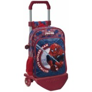 Troler de scoala 2 roti 40 cm Spiderman