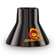 Klarstein Chicken Sitter, керамична тенджера за пиле на грил, аксесоар за грил (GQ13-Chicken-Sitter)