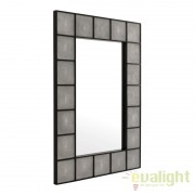 Oglinda decorativa Shagreen negru/ sagrin 109587 HZ