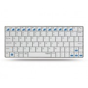 KBD, Rapoo E6300, Wireless, Bluetooth, Ultra-slim, White, For iPad