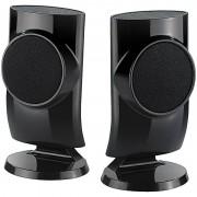 auvisio Designer-Aktiv-Lautsprecher mit USB-Stromversorgung, 12 Watt