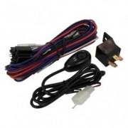 Set cablaj auto Carpoint pentru proiectoare de ceata sau drum , cu comutator , releu si siguranta