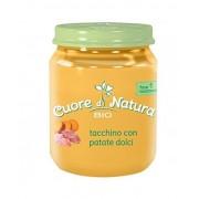 Heinz Italia Spa Cuore Di Natura Omogeneizzati Tacchino Con Patate Dolci Biologico 110g