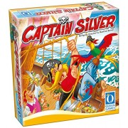 Captain Silver - Family Board Game (2-4 player) by Queen Games