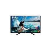 Smart Tv Android Led 39 Philco PTV39N92DSGWA Full HD com Wi-Fi 2 USB 2 Hdmi Ginga Midiacast e 60Hz