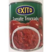 Bote de tomate troceado marca Éxito 6/3 kg.