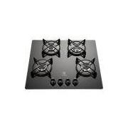 Cooktop Electrolux 4 bocas, Acendimento Superautomático, Preto - GC60V Bivolt