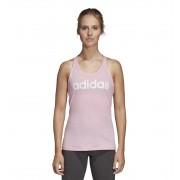 Tank Fitness Adidas W E Lin Slim Tk M Rosa