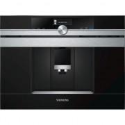 Espressor incorporabil Siemens CT636LES1, 19 bari, 2.4l, 1600W, Negru