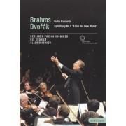 Berliner Philharmoniker/Claudio Abbado/Gil Shaham: Brahms/Dvorak [DVD] [2002]