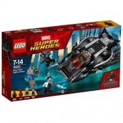 Set de constructie LEGO Super Heroes Atacul Luptatorului Regal