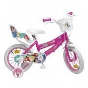 Bicicleta Princesas 14 Pulgadas Disney - Toimsa