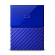 WD Dysk zewnętrzny WD My Passport 1TB Niebieski WDBYNN0010BBL-WESN