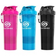 SmartShake 2GO 800ml 1shaker Neon Pink