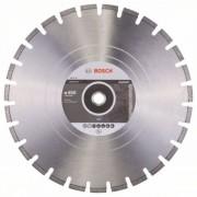 Диск диамантен за рязане Standard for Asphalt, 450 x 25,40 x 3,2 x 10 mm, 1 бр./оп., 2608602627, BOSCH