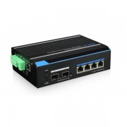 Switch industrial POE++ cu management UTP7304GE-POE, FAST RING (SFP), 4 porturi ethernet gigabit + 2 porturi SFP gigabit (OEM)