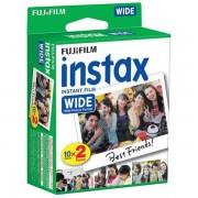 Fujifilm PELICULA INSTAX WIDE GLOSSY PACK 20