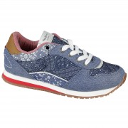Pantofi sport copii Pepe Jeans Sydney Indigo PGS30267-559