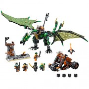 LEGO Ninjago 70593 The Green NRG Dragon Building Kit (567 Pieces)
