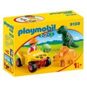 Playmobil Dinoforscher mit Quad 9120