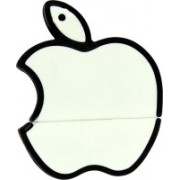The Fappy Store White apple shape 8 GB Pen Drive(White)