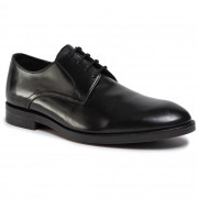 Обувки CLARKS - Oliver Lace 261435807 Black Leather