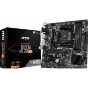 MSI B450M PRO-VDH MAX - Moederbord - micro ATX - Socket AM4 - AMD B450 - USB 3.2 Gen 1 - Gigabit LAN
