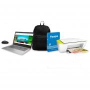 Combo Vuelta al Cole Notebook Lenovo + Impresora 2135+Mochila Urban+Mouse+Resma