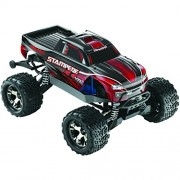 Traxxas 67086 Stampede 4X4 VXL Monster Truck Ready-To-Race Trucks (1/10 Scale), Colors May Vary