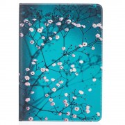 Shop4 - iPad Pro 10.5 Hoes - Book Cover Bloesem Blauw