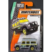2014 Matchbox MBX Explorers - Land Rover Defender 110