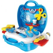Toyshine Carry Along Doctor Play Set, Medical Set, Pretend Play Toy 18 Playing Accessories