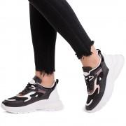 Pantofi sport dama Jalicy, Negru 37