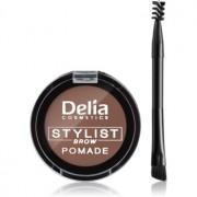 Delia Cosmetics Eyebrow Expert pomada para as sobrancelhas tom Light Brown