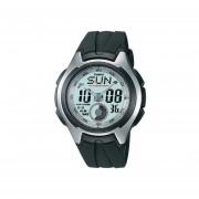 Reloj Casio AQ-160W-7B-Negro Con Plateado