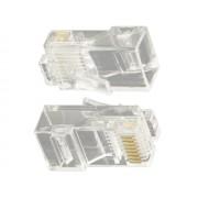 NTR CON04 RJ45 Cat5 aranyozott csatlakozó UTP patch kábelhez