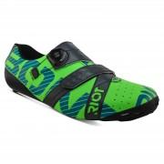 Bont Riot+ Road Shoes - EU 46.5 - Green/Grey