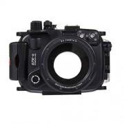 Cuifress PULUZ Juego de Accesorios para cámara Canon G7 X Mark II (40 m, Sumergible, batería Recargable y Accesorios de Montaje)