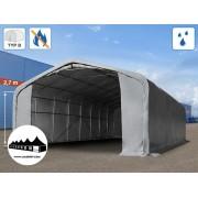 6x12x2,7m Wikinger raktársátor 720g/m2 Tűzálló ponyva