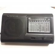 Radio Winco W 2005 Fm /am /sw 1-7 Pilas o 220 V.-Negro