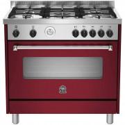 La Germania Amn965gvit Cucina 90x60 5 Fuochi A Gas Forno A Gas Ventilato 115 L C