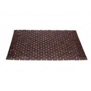 MIOMARE® Bamboe badmat 50 x 80 cm (Donkerbruin)