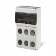 efectoled.com Cuadro de Distribución 16 Módulos DIN 6 Tomas IP66 Domino SCAME