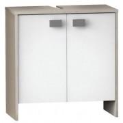 Fürdőszobai mosdó alatti szekrény 2 ajtóval 60 x 32,7 x 61,8 cm HAWAI 985100