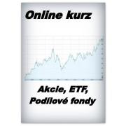 Online kurz - Akcie, ETF, Podílové fondy (50% sleva)
