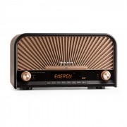 Auna GLASTONBURY, dispozitiv stereo retro, dab + fm, bluetooth, cd, mp3, player (ISP5-Glastonbury)