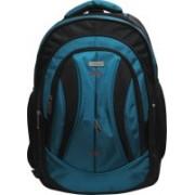 Bleu Vista - 17.5 Inch (15.6 inch laptop) -Sea Blue & Black- 436 25 L Laptop Backpack(Multicolor)