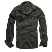 cămaşă bărbați Brandit - bărbaţi Cămaşă Subţire - Woodland - 4005/10košile bărbați Brandit - bărbaţi