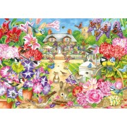 Puzzle Jumbo - Claire Comerford: Summer Garden, 1.000 piese (11171)