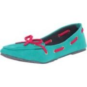 TEN Loafers For Women(Green)